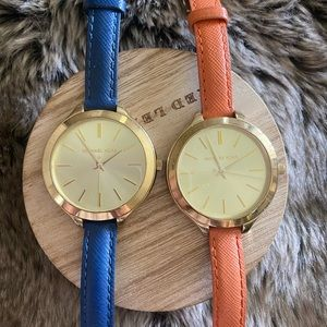 Two Michael Kors Watches